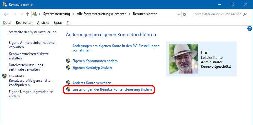 Ändern windows namen 10 konto Windows 10